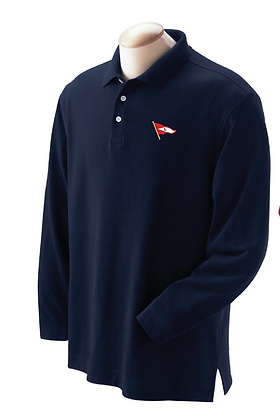 Men's LS Polo