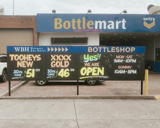 bottlemart warners bay