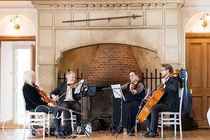 Stretto Quartet working