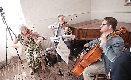Stretto Trio Playing