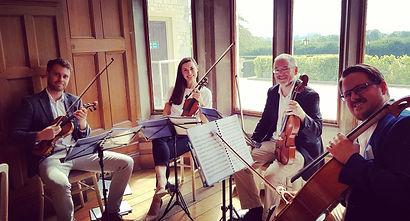 Stretto Quartet in a Bay Window