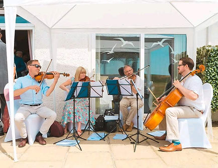 Stretto Quartet in the Sun
