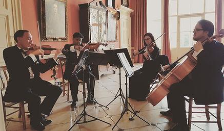 Stretto Quartet Playing
