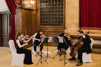 Stretto Quartet Playing for a Wedding