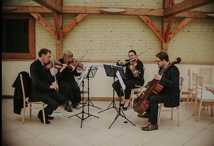 Stretto Quartet in a Barn