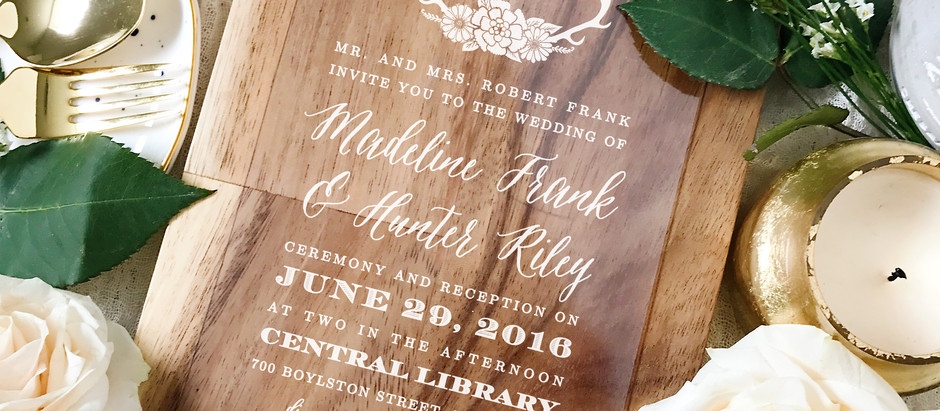 5 Ways to WOW Your Wedding Guests   Save the Date with Basic Invite