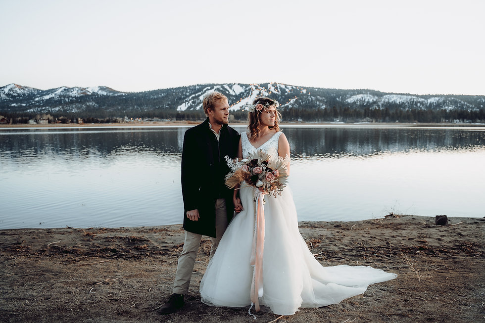 Big Bear Wedding
