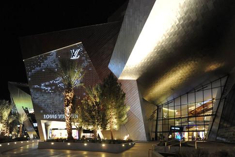 Louis Vuitton Las Vegas Facade
