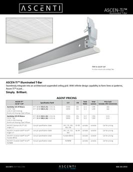 Ascenti - Illuminated T-Bar