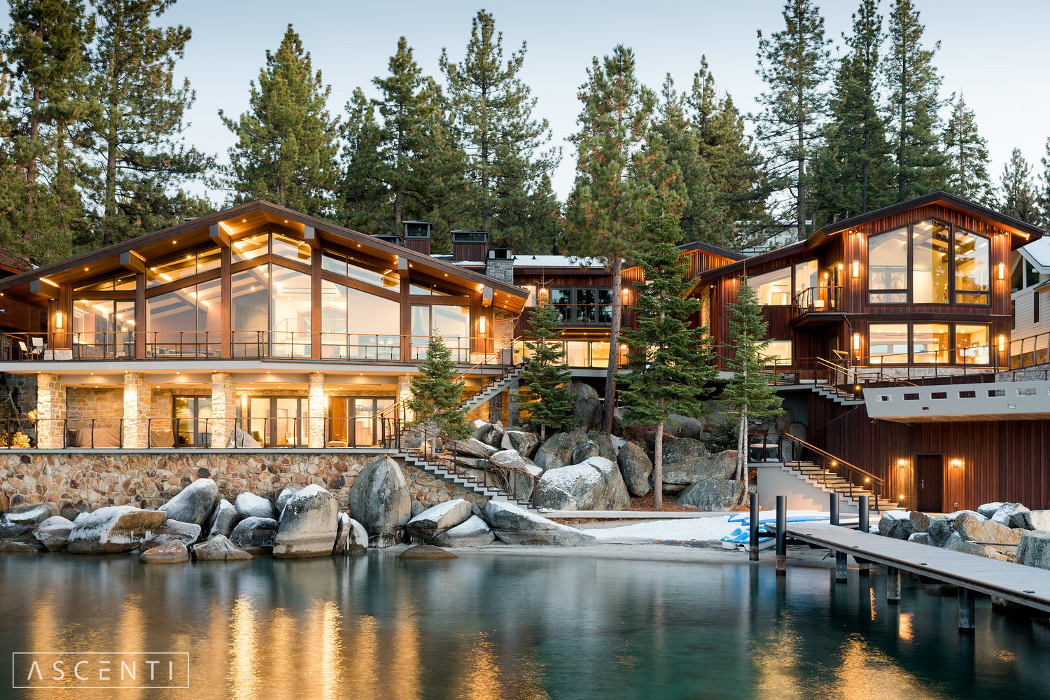 Lake Tahoe Residence ASCENTI LIGHITNG-24