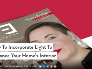 How To Incorporate Light To Enhance Your Home's Interior