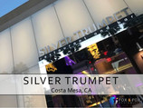 Silver Trumpet sparkles with LED