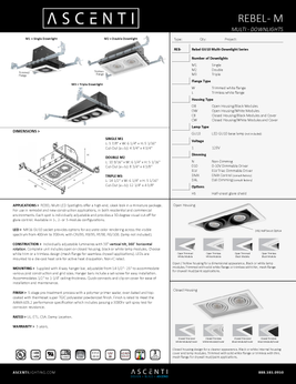 Wold of One - Downlight Rebelmulti Led