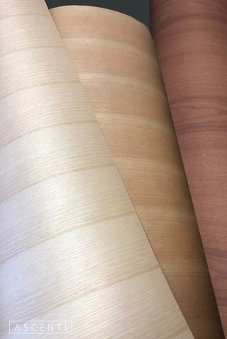 Birch, Japanese Cherry & Makore Veneers