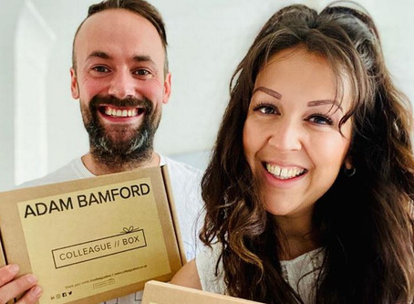 Husband-and-wife team inundated after launching gift boxes for companies to welcome back furloughed