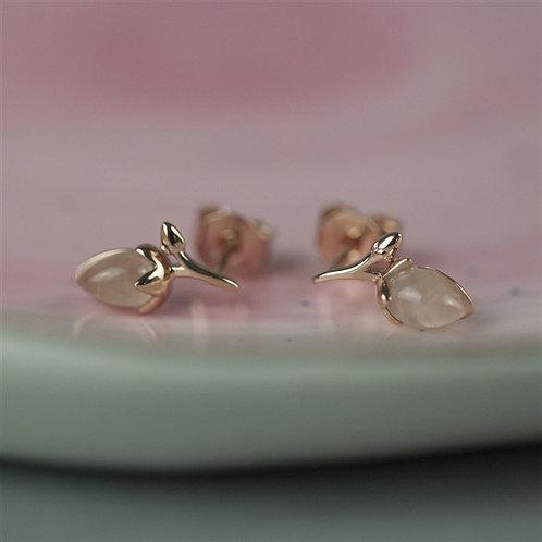 Rosebud Earring Studs