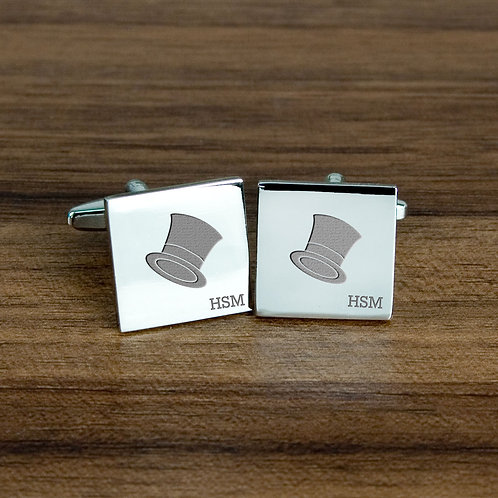 Top Hat Cufflinks
