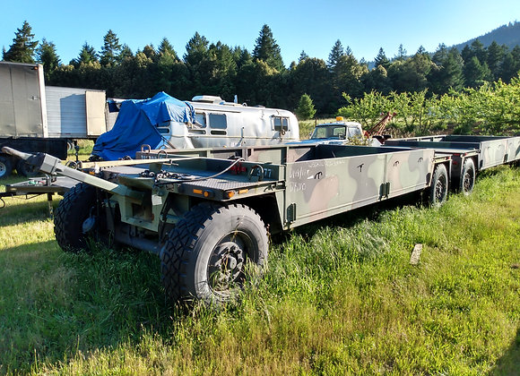 Military cargo trailer