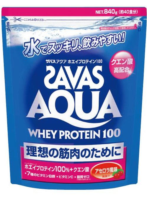 ザバス アクア ホエイプロテイン100 アセロラ風味(無果汁)840g(約40食分)