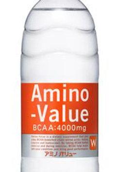 アミノバリュー ペットボトル 500ml×24本(1ケース)