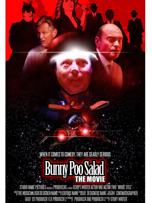 Bunny Poo Salad Poster