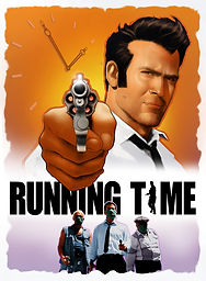 Official Poster Art for RUNNING TIME Bruce Campbell