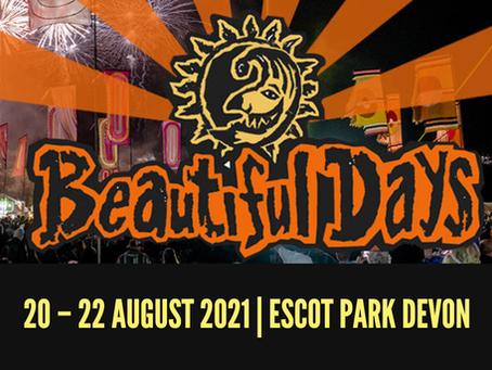 Beautiful Days ticket raffle
