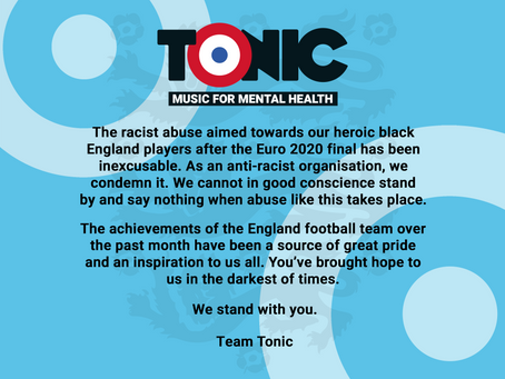Standing in solidarity with the England football team
