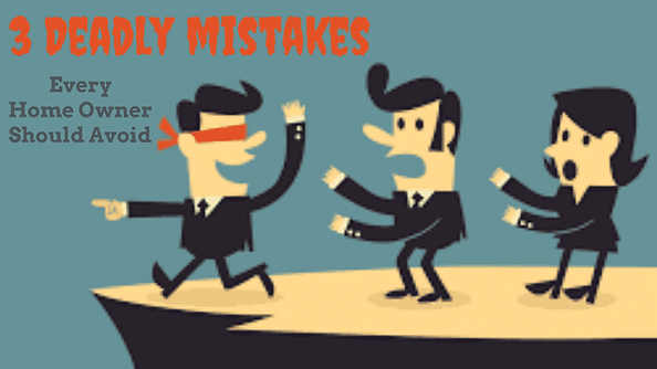 Mistakes Home Buyers can make