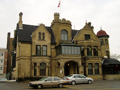 most-haunted-places-in-canada-keg-mansio