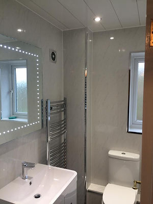 Bathroom supplied and fitted byConsett Gas Stoves & Bathrooms