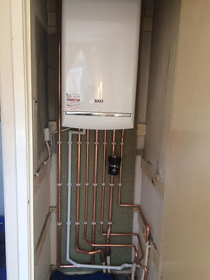 Combi boiler supplied and fitted by our gas engineer in Durham