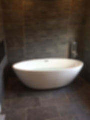 Bathroom supplied an fitted by Consett Gas in Durham.
