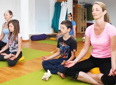 Weshalb man mit Kindern meditieren kann…