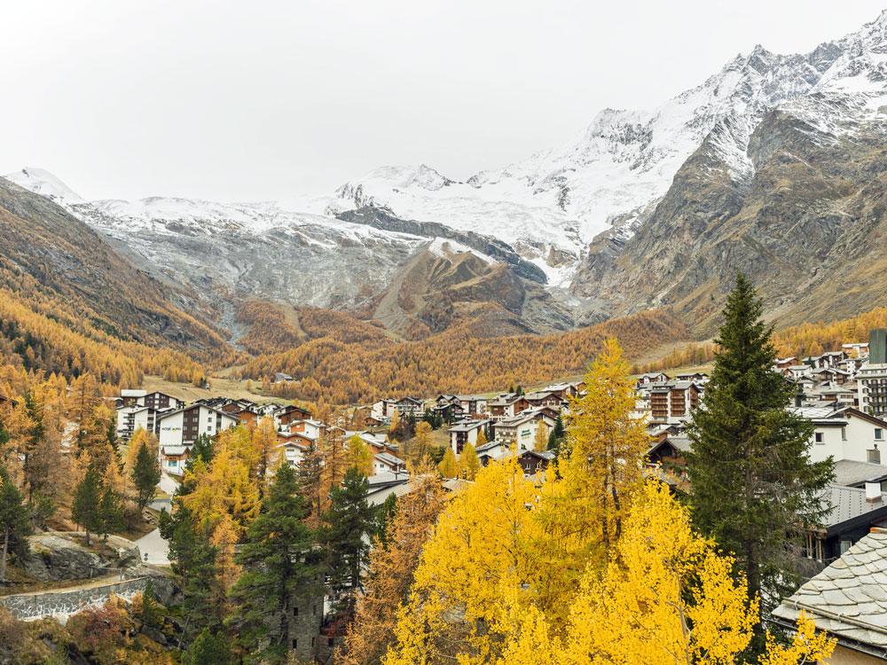 SaasFee-im-Herbst