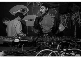 Dressing around the thrill of rave frequencies with artist & DJ/ Gyorgy Ono