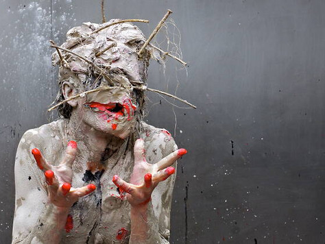 'Transfiguration', Olivier de Sagazan - Sadler's Wells Theatre