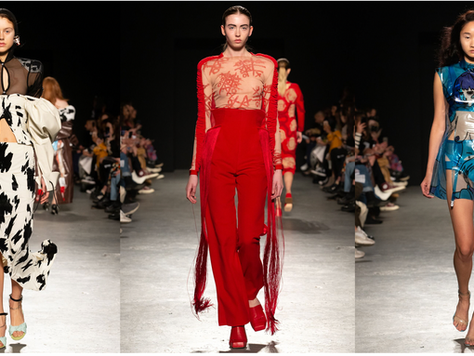 Sex, Sensuality and Sophisticated Design – LFW A/W19 Review: University of Westminster BA