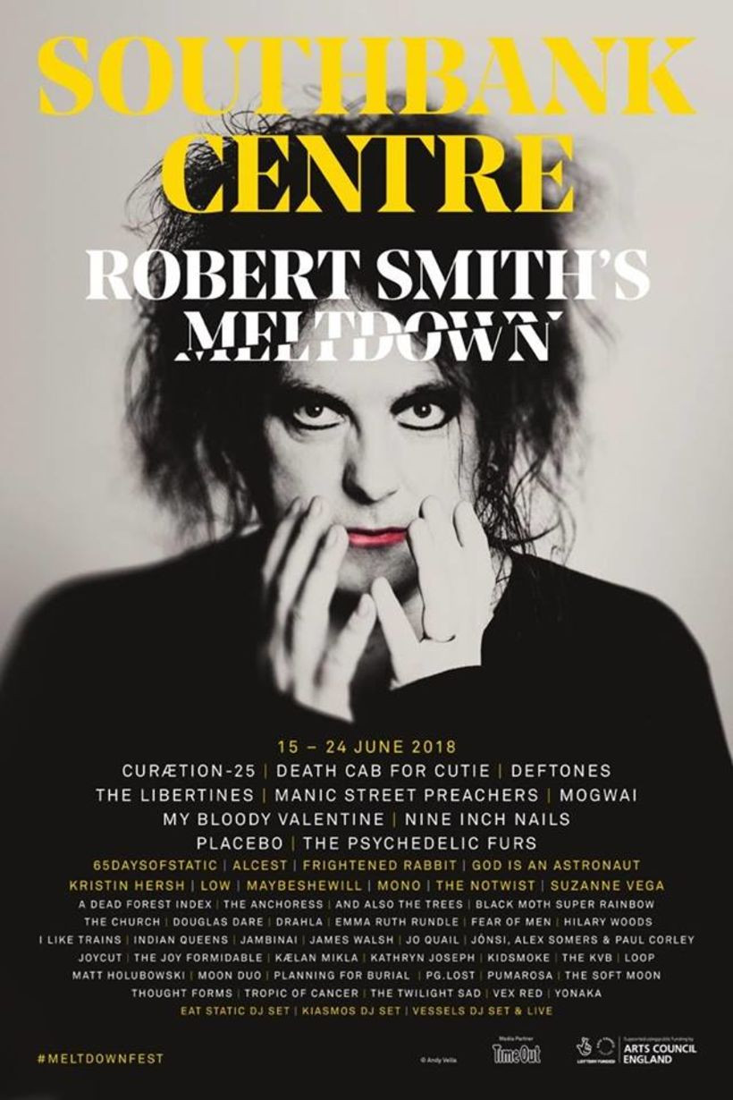 Robert Smith's Curated MELTDOWN Festival
