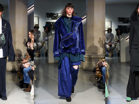 Student Chic - LFW A/W19 Review: Jamie Wei Huang