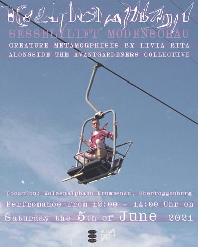 'CREATURE METAMORPHOSIS'- Livia Rita & the Avantgardeners Collective present an artfashion show
