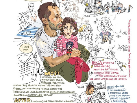 Journeys Drawn: Illustration from the Refugee Crisis Review - House of Illustration