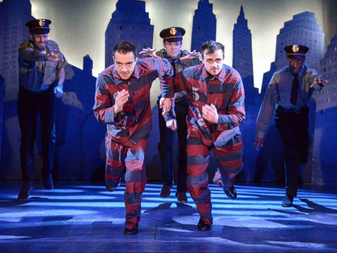 'The Comedy About A Bank Robbery': Heist Musical at The Criterion Theatre