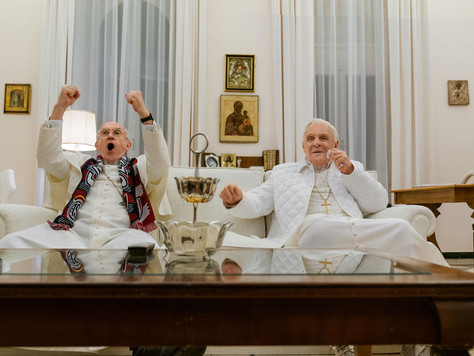 """""""The Two Popes"""" - Welcome back Hopkins"""