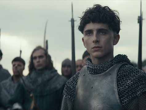 """All Hail """"The King""""- Timothée Chalamet gives an epic performance as warrior King Henry V"""