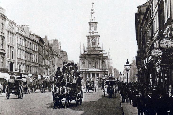 Strand in the 1900s