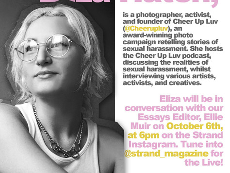 Strand Speaker Series: In Conversation with Eliza Hatch, Founder of Cheer Up Luv