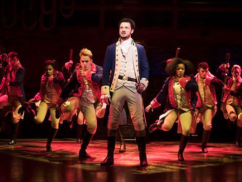 'Hamilton' - Victoria Palace Theatre