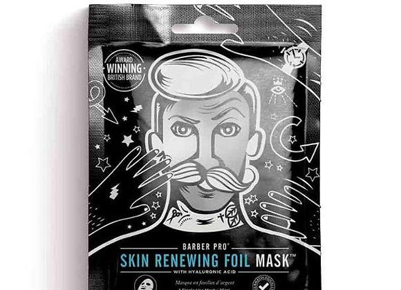 Barber Pro Skin Renewing Foil Mask with Hyaluronic Acid & Q10