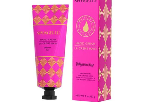 Spongelle Hand Cream Bulgarian Rose 2oz